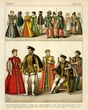 French Costume 1550-1600