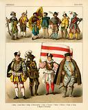 German Costume 1550-1600