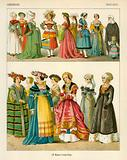 German Costumes 1500-1550