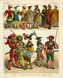 German Costume 1500-1550