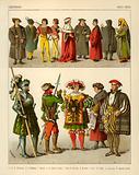 German Costume 1500-1550