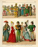 French Costume 1400