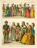 English Costume 1400-1450