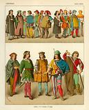 German Costume 1450-1500