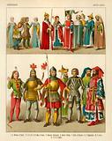 German Costume 1400-1450