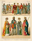 English Costume 1300-1400