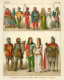 German Costume 1350-1400