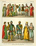 German Costume 1300-1350