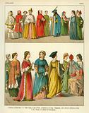 Italian Costume 1300