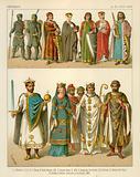 German Costume 1000-1100 AD
