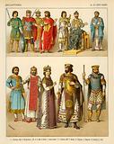 Byzantines Costume 800-1000 AD