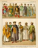 Byzantines Costume 300-700 AD