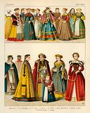 German Costume 1550-1600