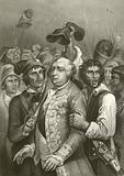 Louis XVI threatened by the mob on their visit to the Tuileries