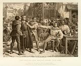 Lord Saye and Sele brought before Jack Cade