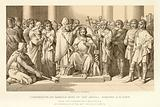 Coronation of Harold King of the Anglo Saxons
