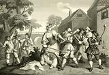 Hudibras. The Knight submits to Trulla