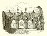 Entrance to Rubens's Garden
