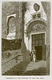 Entrance to the Convent of the Ara Coeli