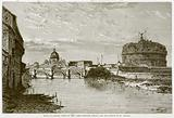 Mole of Adrian, Banks of the Tiber between Ripeta and the Bridge of St Angelo