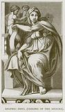 Delphic Sibyl (Ceiling of the Sixtine)