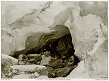 Ice Cave in the Great Glacier, Mount Sir Donald