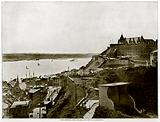 View showing the Citadel and the St. Lawrence