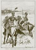 """Suddenly a French Officer Galloped Up to Major Wilson"""