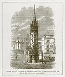 Clock Tower, Erected at Leicester in 1868, in Commemoration of Simon de Montfort and Others
