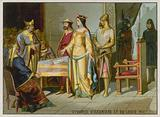 The Divorce of Eleanore of Aquitaine and Louis VII