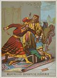 The Murder of the Children of King Clodomir
