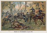 Battle of Spicheren, Defence of Stiring