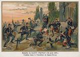 Battle in the Cemetary of Saint-Privat