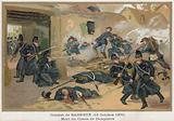 The Death of the Comte de Dampierre during the Fighting at Bagneux