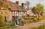 Cottages at Welford on Avon, Warwickshire
