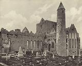 Cashel Abbey and Round Tower