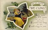 'We Cling' - An ivy motto