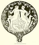Aplu (Apollo) and Artemisia