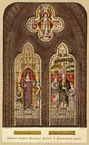 George Herbert and William Cowper window, Westminster Abbey, London