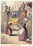 Illustration for Vanity Fair by Thackeray