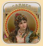 Carmen, cigar label