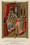 The Court of Mary of Anjou, wife of Charles VII
