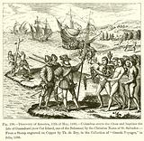 Discovery of America, 12th of May, 1492