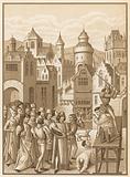 Decapitation of Guillaume de Pommiers