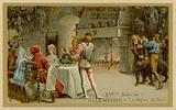 Christmas dinner in 15th century Germany