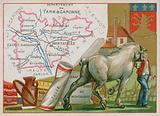 Department of Tarn et Garonne in the southwest of France
