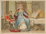 Blanche of Castile, Queen consort of France as the wife of Louis VIII (1188-1252)
