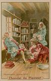 Surgeon attending to Louis XIV, King of France (1638-1715)