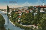 Sarajevo – view to the north of the city