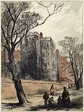 The Lollard's Tower, Lambeth Palace, London